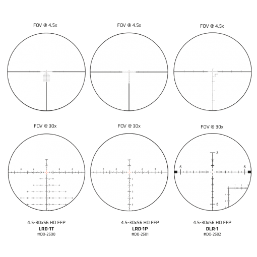 Delta Optical Zielfernrohr - Stryker HD 4.5-30x56