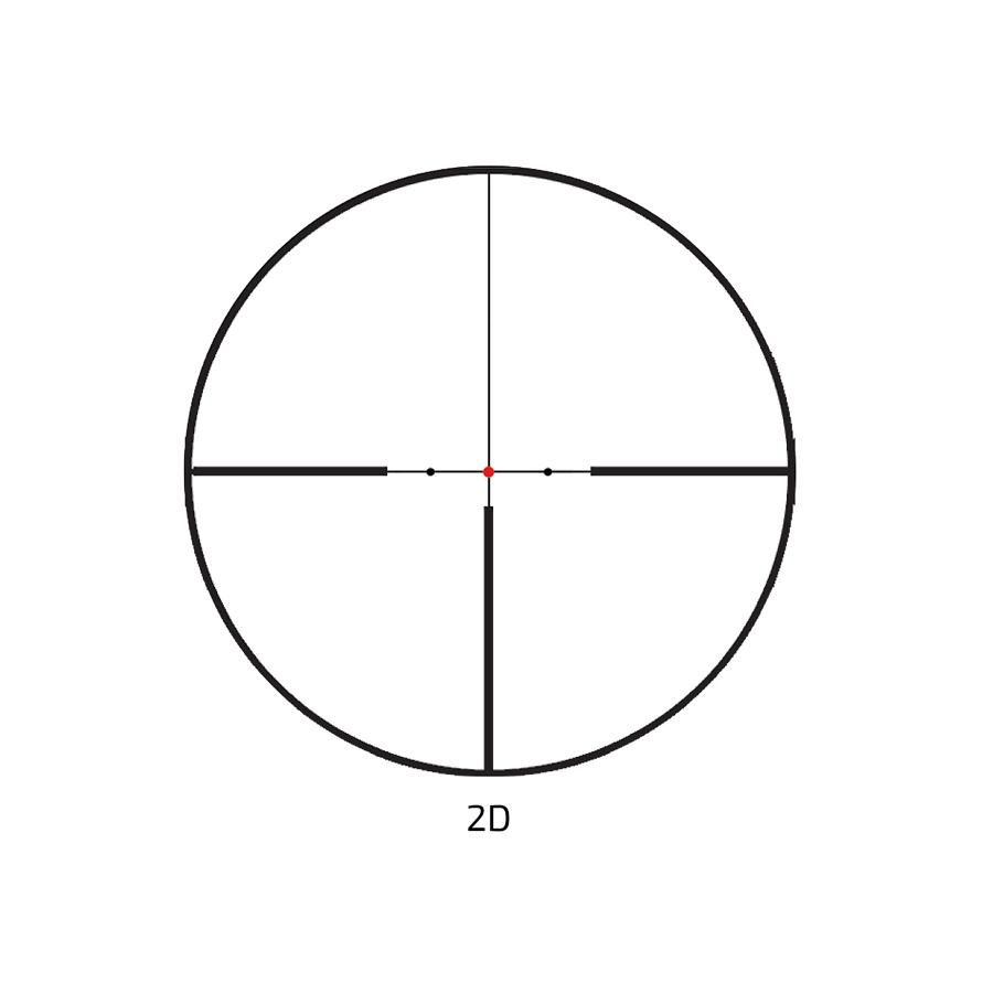 Zielfernrohr Delta Optical Titanium 2.5-15x50 HD SF 2D