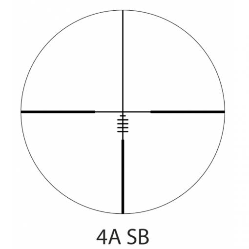 Zielfernrohre Delta Optical Titanium 4-24x50 HD SFP 4A-SB